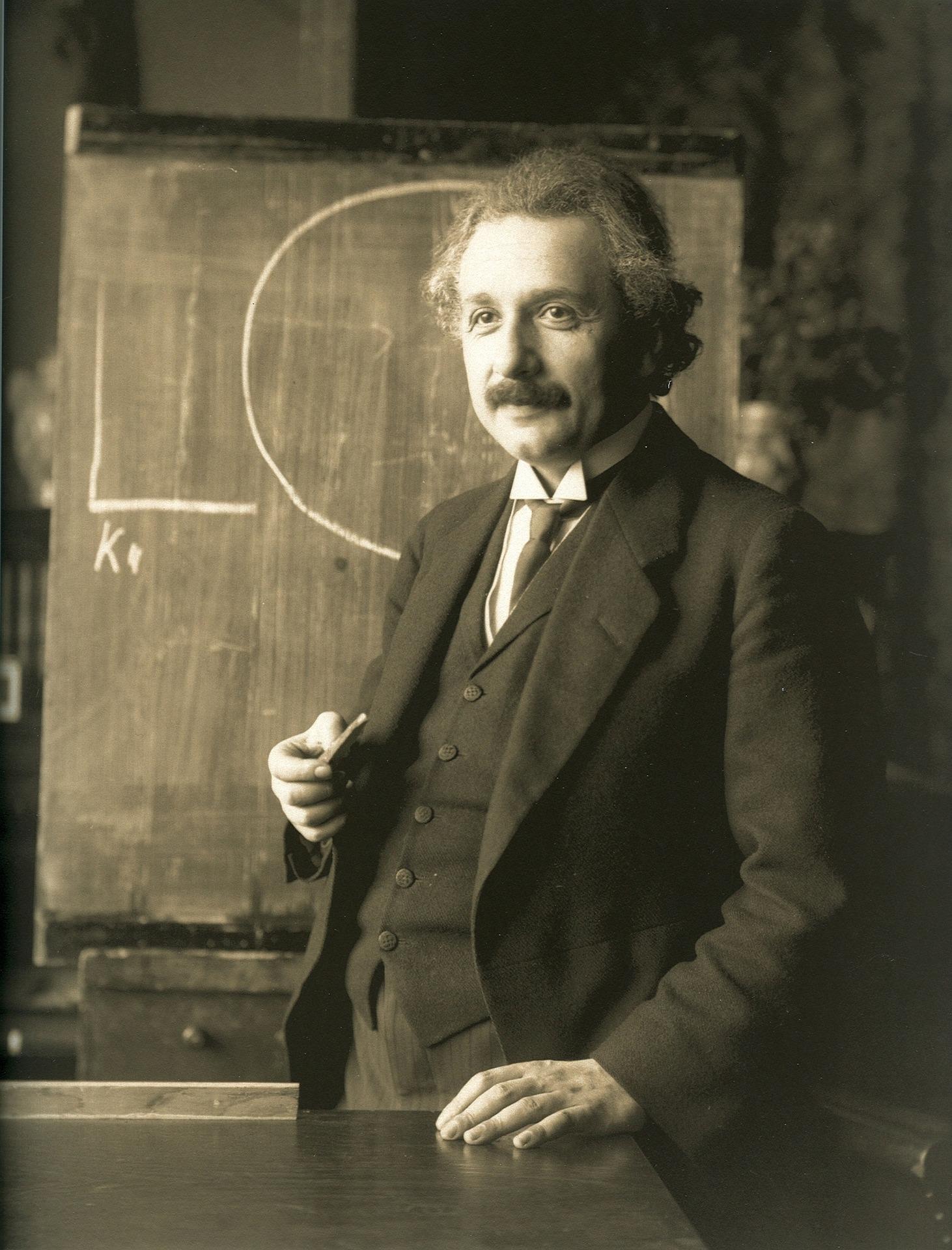 Legasthenie bei Albert Einstein