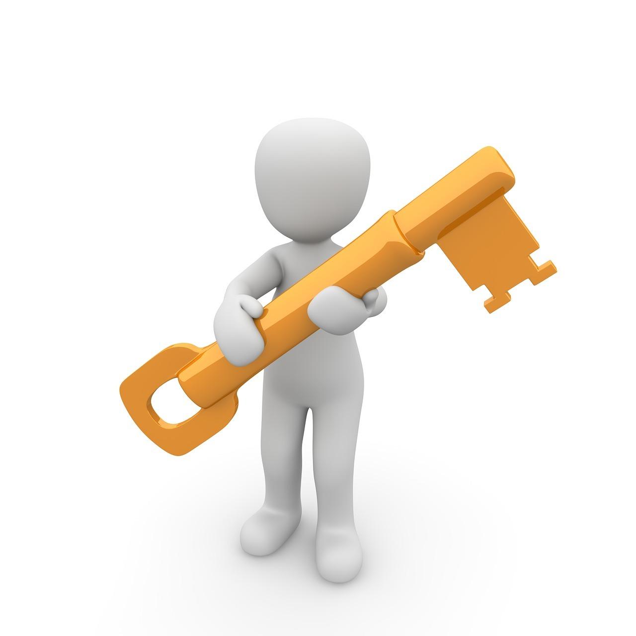 Bild: Schlüssel bei LRS